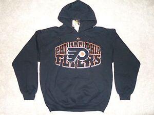 VINTAGE Philadelphia Flyers Heavy Weight Hoodie / Jacket  NICE -N- WARM  ( L )
