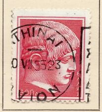 Greece 1954 Early Issue Fine Used 600dr. NW-06919