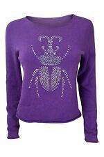 * LUCIEN PELLAT-FINET * Violet Cristal Beetle Pull (S)
