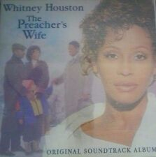 Whitney Houston 1996 CD The Preacher's Wife Gospel Holographic T4