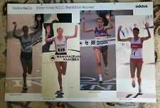 Rare & Vintage Adidas Poster of Grete Waitz - 9 Time NYC Marathon Winner