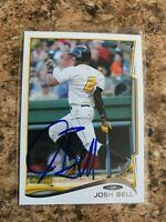 Josh Bell Signed 2014 Topps Pro Debut Rc Auto Pittsburgh Pirates