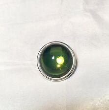 Lalique Cabochon Broche Tilleul Pin / brooch Lime Green Spilla Verde NEW