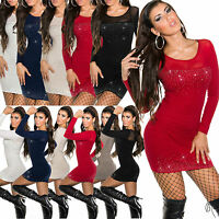 Sexy Women Clubbing Pullover Ladies Jumper Top Blouse Size 8 10 12 Dress Sweater