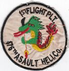 US Army 1st Flight Platoon 176th Attack Helicopter Company Vietnam Patch #7