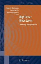 High Power Diode Lasers: Technology and Applications