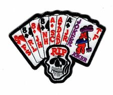 Harley Marlboro Man Movie Ace/Joker Dead Man's Hand Iron on Patch
