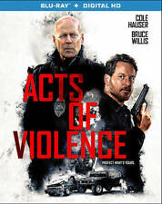 Acts of Violence (Blu-ray Disc, 2018) NO DIGITAL, Bruce Willis