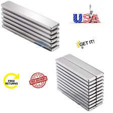 Strong Neodymium Bar Magnets With Double Sided Adhesive Rare Earth Metal Neo