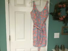Vintage The LILLY Lilly PULITZER SHELLS Dress Sz 14 Modern 10 (CON15)