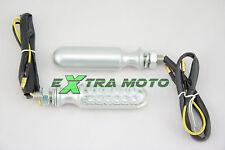Frecce moto a LED OMOLOGATE universali Yamaha Honda Ducati Suzuki Kawasaki 135S