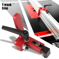 Legierungsstahl 75 Type Miter Track Stop für T-Slot Track Holzbearbeitung Tool
