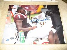 David Wilson Virginia Tech Hokies - Signed 8x10 - #'d 1/50 - New York Giants