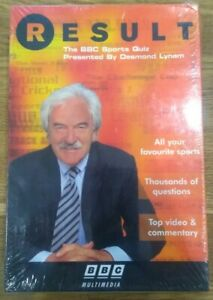 RESULT: THE BBC SPORTS QUIZ WITH DES DESMOND LYNAM - PC CD BIG BOX NEW & SEALED!