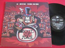 "ELECTRO BREAKS UK 12"" - SOUL OF MAN - THE DRUM / ACID PUNCH - FINGER LICKIN 037"