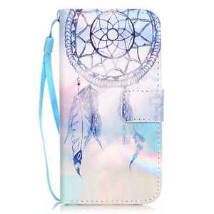 For iPhone 5/6/7/8 Samsung Fashion Flip Magnetic Wallet PU Leather Case Cover