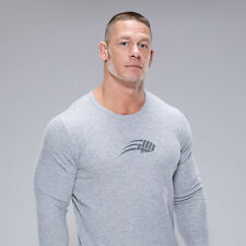 JOHN CENA Training Logo NEW Thermal Long Sleeve T-Shirt Men's XL Wrestling WWE