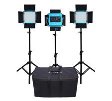 Dracast S-Series Plus Bi-Color LED500 3 Light Kit with NP-F Battery Plates an...