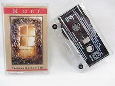 Cassette Tape - JACQUES De KONINCK  Noel  CHA-034, 1992 French English Christmas