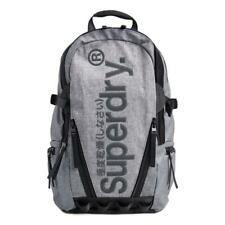 Superdry Coated Marl Tarp Backpack - Light Marl NEW