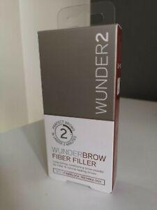 Wunder2 Wunderbrow Brow Fiber Filler - Colour choice **New** RRP 19.95