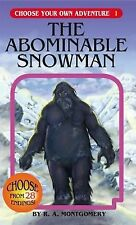 The Abominable Snowman [Choose Your Own Adventure #1] , Paperback , R. A. Montgo