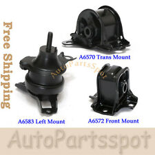 Trans Engine Motor Mount Set 3 For 98-02 Honda Accord 2.3L Auto Trans G117