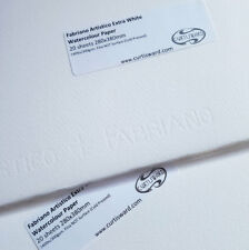 Fabriano Extra White Artistico Cold Pressed Watercolour Paper 380x280mm 20 Sheet
