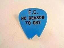 "Eric Clapton, E.C. No Reason To Cry, 1"" Guitar Pick Pinback, Rso Promo (1976)"