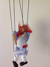 PUPPET - MARIONETTE WOODEN STRING PUPPET - CHEF - RARE VINTAGE FIND
