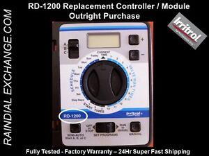 Irritrol / Hardie Rain Dial RD-1200 RD1200 Timer Module -Fst Shp,Warranty,Tested