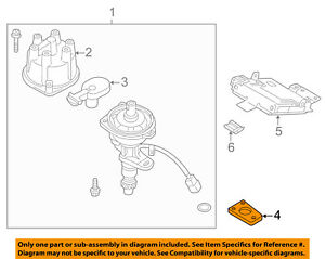 NISSAN OEM Ignition-Distributor Assembly Support 2217885E00