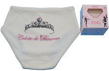 French Designer Adri 100% Cotton Organic Girls Knickers Princess Pants NEW