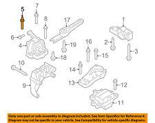VW VOLKSWAGEN OEM Golf Engine Transmission Mounting-Motor Mount Stud N91029602