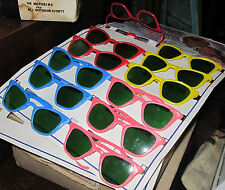 60 VINTAGE BUT NEW CHILDREN'S SUNGLASSES PARTY FAVORS TOYS
