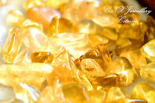 Tumbled Gemstone Crystal Citrine 5g Chip Stone Birthstone Gemini Virgo Medium