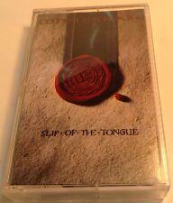 WHITESNAKE Tape Cassette SLIP OF THE TONGUE 1989 Geffen Canada M5G-24249