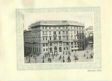 1920 Italy Credito Italiano Head Office Milan