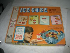 Vintage Ice Cube Board Game Milton Bradley MB 1972 RARE COMPLETE