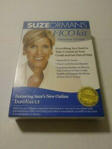 SUZE ORMAN'S FICO KIT PLATINUM - TAKE CONTROL OF Credit DEBT PC/MAC  NEW SEALED