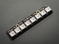 Adafruit NeoPixel Stick - 8 x 5050 RGB LED with Integrated Drivers [ADA1426]