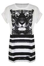 Markenlose Damenblusen, - tops & -shirts aus Baumwolle in Größe 42