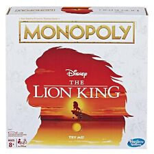Monopoly Game Disney The Lion King Edition Family Board Game - NEW NIB