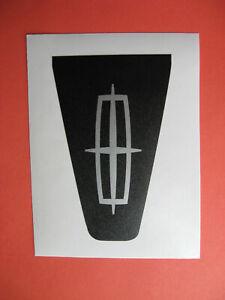2003 2004 2005 Lincoln Aviator Rear Liftgate Applique Aftermarket Vinyl Emblem