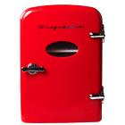Frigidaire 6-Can Mini Retro Beverage Fridge - Red EFMIS121-RED photo
