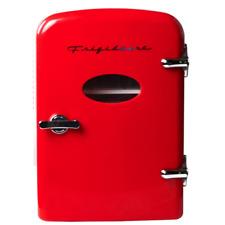 Frigidaire 6-Can Mini Retro Beverage Fridge - Red EFMIS121-RED