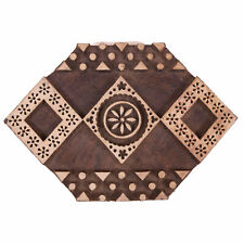 Indian Abstract Printing Stamps Wooden Blocks Textile Stamps (8.5X5.7)-Inch
