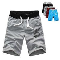 Summer Men Casual Sport Shorts Pants Gym Trousers Jogging Trousers Cotton Shorts