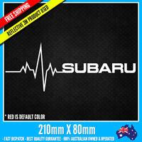 My Blood Subaru Decal sticker 210 x 80mm WRX STI Tecnica International