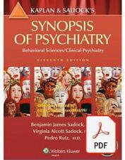 Kaplan & Sadock's Synopsis of Psychiatry: Behavioral Sciences